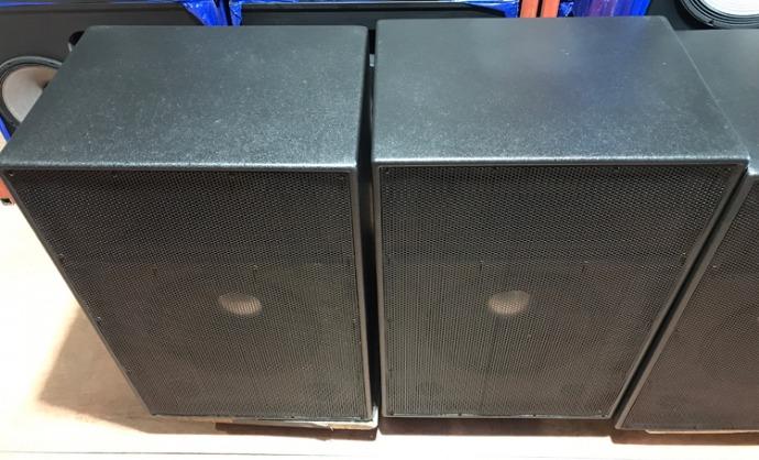 수입오디오-장터 - ALTEC LANSING 15인치 2웨이 스피커 (제작통